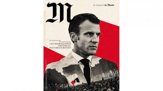 Le Monde-ს მაკრონის ფოტოს გამოქვეყნების გამო ბოდიშის მოხდა მოუწია