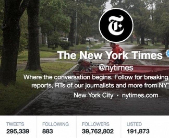 არ გაავრცელო პოლიტიკური მოსაზრებები, შეასწორე შეცდომა - სოციალური მედიის ახალი სახელმძღვანელო The New York Times-ისგან