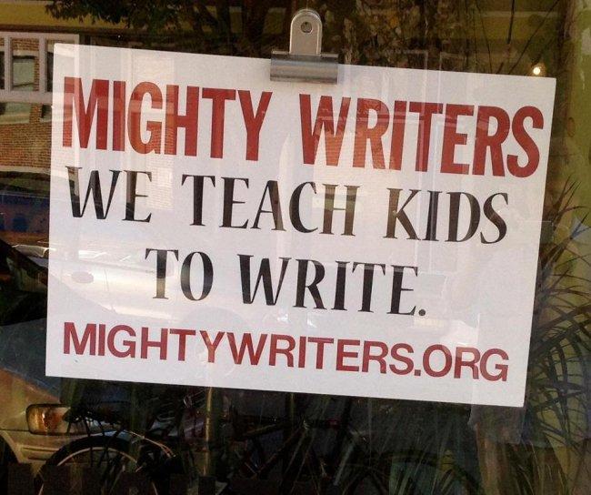 Mighty Writers -  წერა, როგორც თვითგამოხატვის და სოციალიზაციის საშუალება