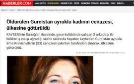 თურქულმა გამოცემებმა ქართველი ქალის მკვლელობის ამბავს სხვა ემიგრანტი, ცოცხალი ქალის ფოტო დაურთეს