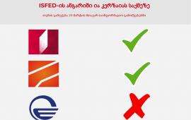 შესწორება: ISFED-ის ანგარიში ია კერზაიას საქმეზე მხოლოდ იმედის მთავარ გამოშვებაში არ მოხვდა