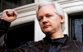 Wikileaks-ის დამფუძნებული ჟულიან ასანჟი დააკავეს