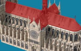 ნოტრ-დამის ხანძარი გრაფიკებითა და ინტერაქციული ფოტოებით BBC-ზე