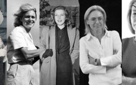 ომის პირველი ქალი ფოტოგრაფი,პირველი აფრო-ამერიკელი ქალი მიმომხილველი აშშ-ის ეროვნულ რადიოსა და ტელევიზიაში, ომის ყველაზე გავლენიანი რეპორტიორი ქალი, ჟურნალისტი და უფლებადამცველი ქალი, რომელიც არ უშინდებოდა პუტინის ხელისუფლების მხილებას და რა თქმა უნდა, ომის ერთ-ერთ საუკეთესო რეპორტიორად მიჩნეული მარი კოლვინი -