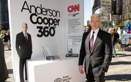 ერთ-ერთი ყველაზე ცნობილი და მაღალანაზღაურებადი ამერიკელი ჟურნალისტი ანდერსონ კუპერი CNN-ის სახე და გადაცემა