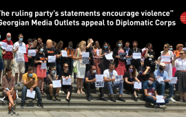 Joint Statement of Media Organizations to the Diplomatic Corps