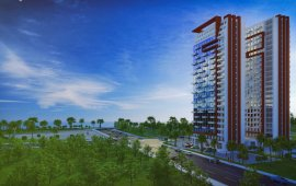 Project Description: AISI is multifunctional premium class hotel type 26 and 24-storey complexes in Batumi boulevard.