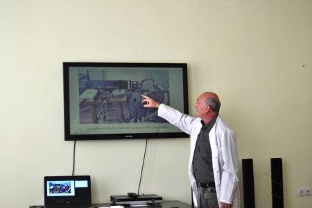 """სემინარი თემაზე : """"LabVIEW-ს ბაზაზე შექმნილი ვირტუალური ვაკუუმეტრი თერმოწყვილური სენსორით"""""""