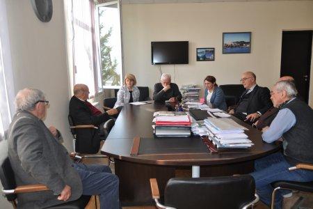 Academician Prof.  Athanasios G. Mamalis's visit to SIPT