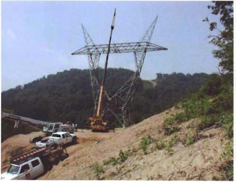 """""""ჯვარი-ხორგას მაღალი ელექტროგადამცემი ხაზის მშენებლობა"""""""