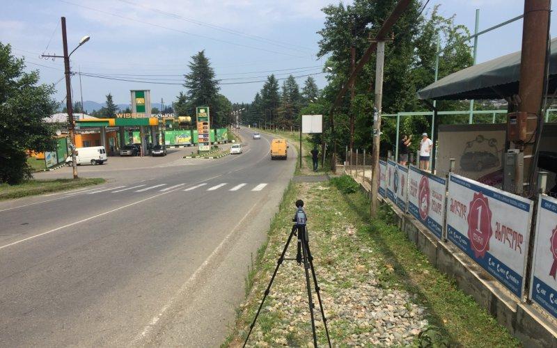 Измерение базового уровня шума и подготовка отчета исследований в окрестностях  автомойки