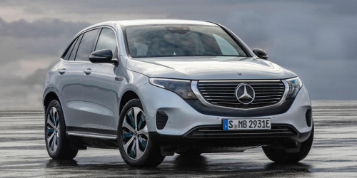Mercedes-Benz EQC ფირმის პირველი ელექტრო ავტომობილი.