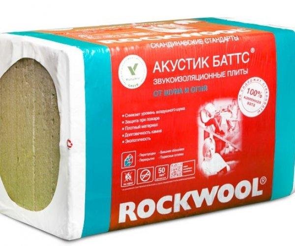 ROCKWOOL - აკუსტიკ ბატსი