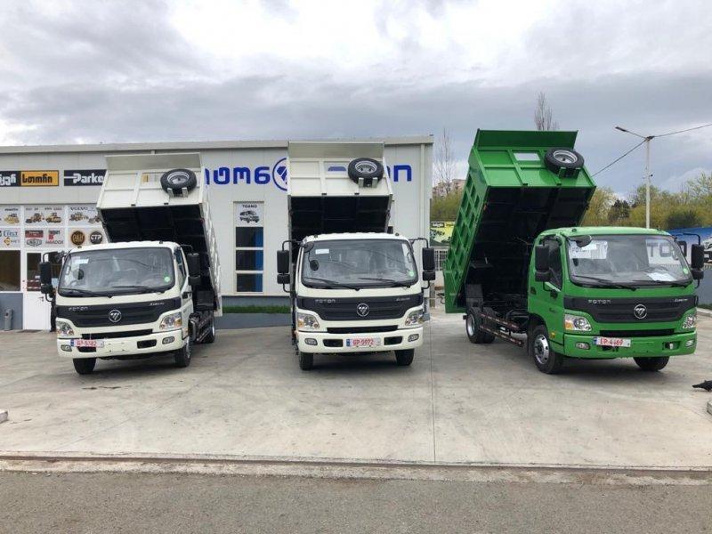 Foton trucks has won a big tender!