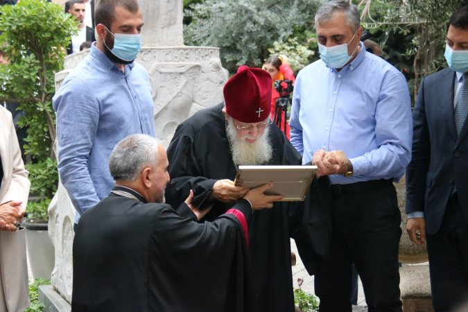 Speech of the Rector of Tbilisi Theological Academy and Seminary, Protopresbyter Giorgi Zviadadze at the Ceremony of Awarding the Title of Honorary Doctor