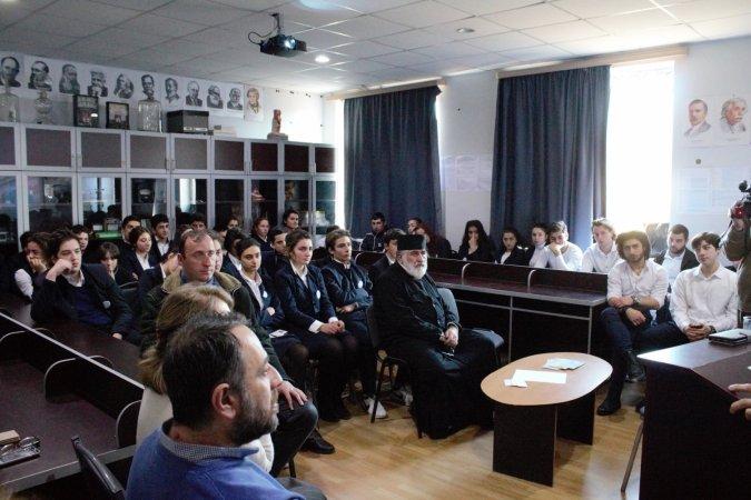 A Visit to Tbilisi Saint Queen Tamar Boarding School
