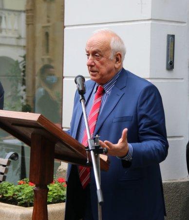 Слово президента Национальной Академии Наук господина Георгия Квеситадзе на мероприятии присвоения звания почетного доктора