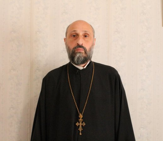 Vice-Rector of Tbilisi Theological Academy and Seminary, Archpriest Besarion Tsintsadze