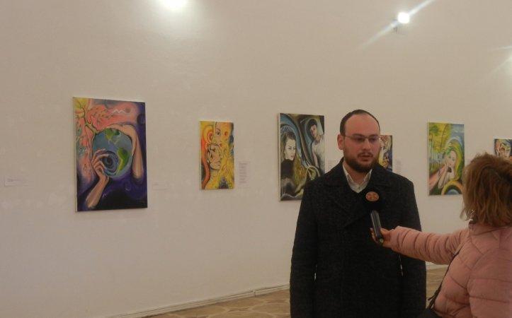 Комментарий господина Цотне Чхеидзе  к выставке Теи Нозадзе