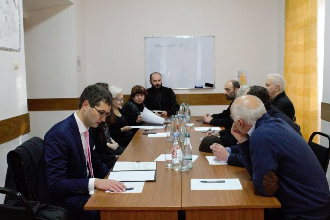 A Meeting with the Representatives of Linz University