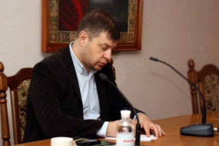 კიევის სასულიერო აკადემიის პრორექტორ, პროფესორ ვლადიმერ ბურეგას ლექცია