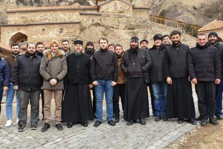 Лекция в Шиомгвимском монастыре