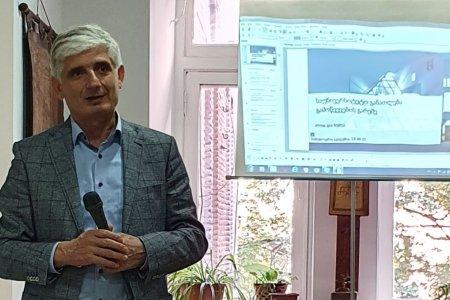 Доклад профессора Георгия Хубуа об образовательной системе в Германии