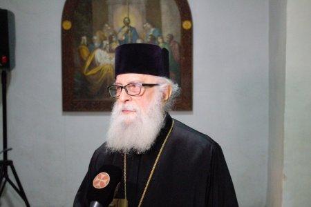 Митрополит Анания Джапаридзе на конференции в ТДАС в связи 42 годовщиной интронизации