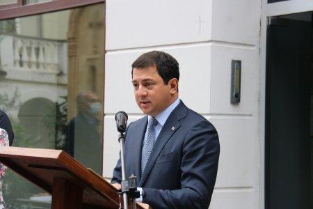 Слово председателя Парламента Грузии, господина Арчила Талаквадзе на мероприятии присвоения звания почетного доктора