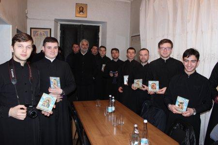 კიევ-პეჩორის ლავრის სასულიერო სემინარიის სტუდენტთა ჯგუფის სტუმრობა
