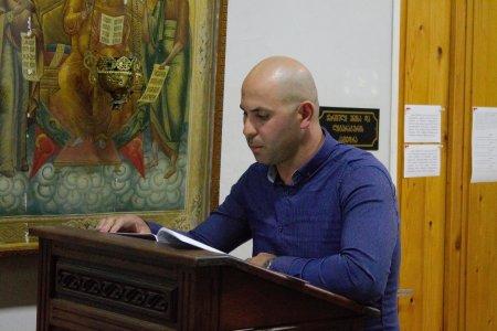 A Report Made by Mr. Gagi Ghavtadze