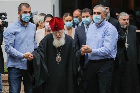 Слово Католикоса -  Патриарха всея  Грузиии на мероприятии , посвященной присвоению звания Почетного Доктора