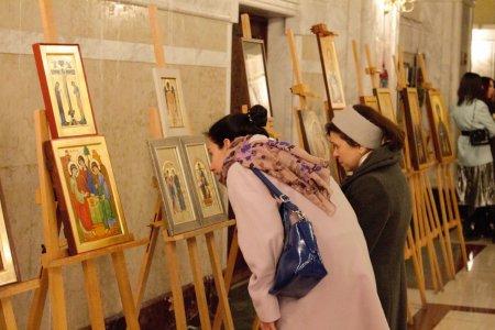Έκθεση που διοργανώθηκε σε συνεργασία με την 42η επέτειο της εισόδου τουο Καθολικόυ-Πατριάρχηυ Πάσης    Γεωργίας