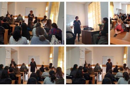 ადიქციის კვლევისა და კონსულტაციის ცენტრის დირექტორის, ფსიქოლოგის, ქალბატონი მარინა კაჭარავას საჯარო ლექცია
