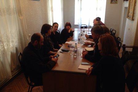 შეხვედრა Erasmus+ ეროვნული ოფისის კოორდინატორ ლიკა ღლონტთან.